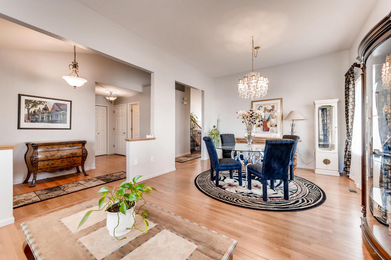 NEW LISTING: 1803 S Tamarac St Denver CO Living/Dining Room