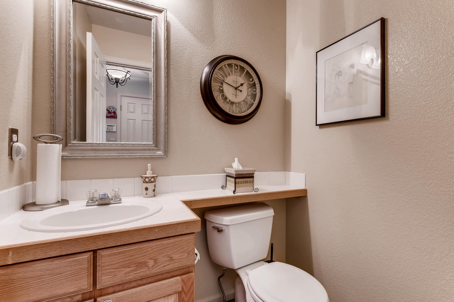 NEW LISTING: 1803 S Tamarac St Denver CO Main Level Powder Room