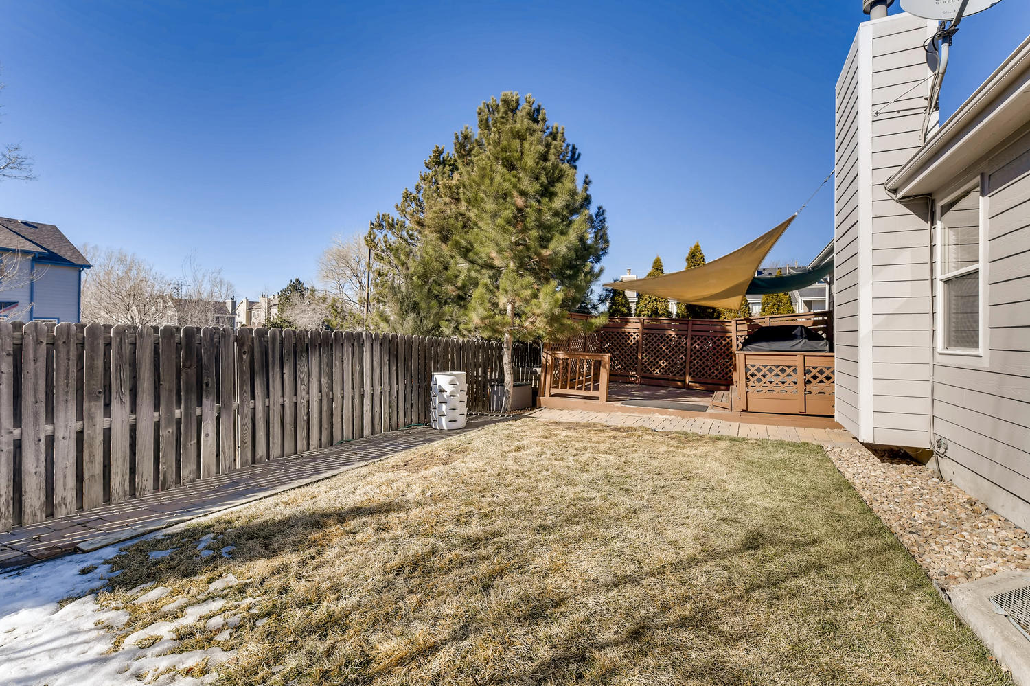 NEW LISTING: 1803 S Tamarac St Denver CO Private Back Yard