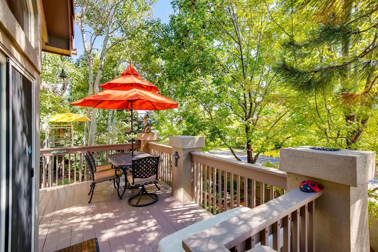 NEW LISTING 5675 S Depew Circle Littleton Back Deck
