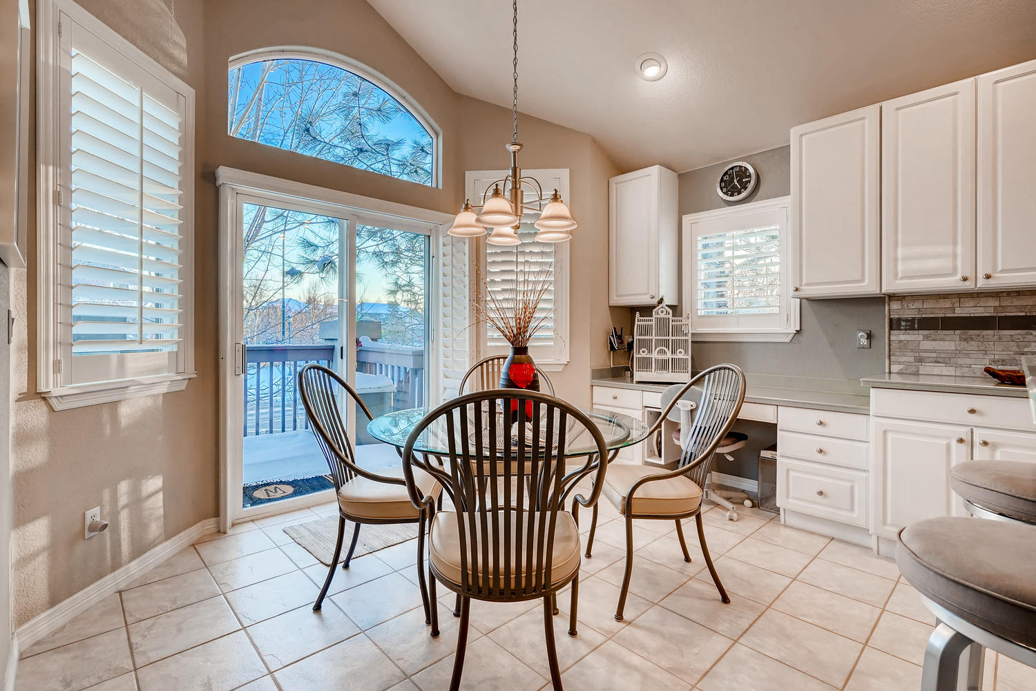 NEW LISTING 5675 S Depew Circle Littleton Breakfast Nook