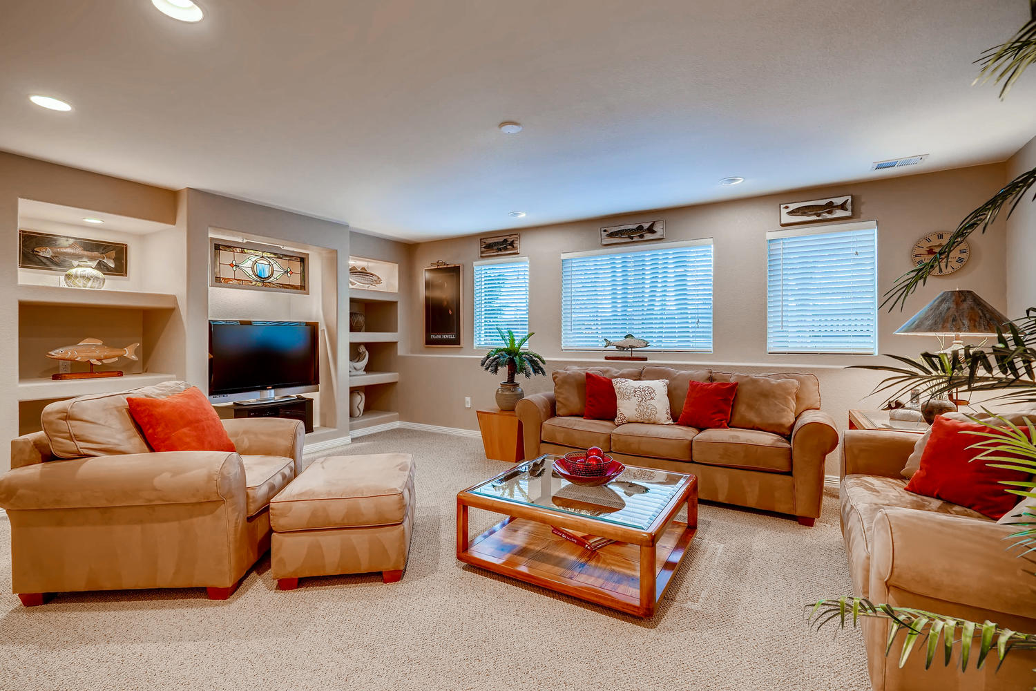 NEW LISTING 5675 S Depew Circle Littleton Basement Family Room