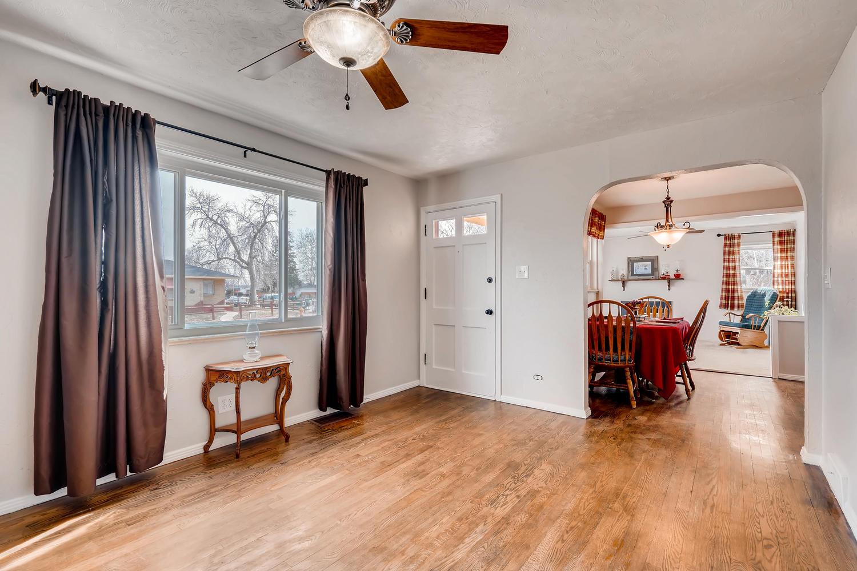 NEW LISTING: 579 S Quivas St Denver CO Living Room