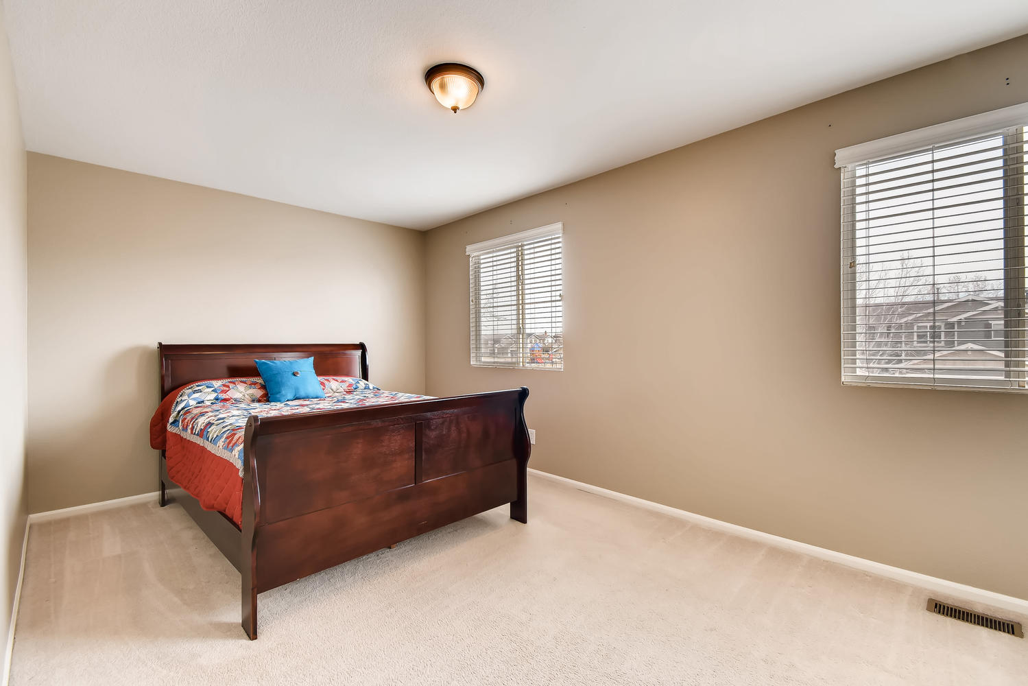 REAL ESTATE LISTING: 10595 Forester Pl Longmont CO Bedroom #2