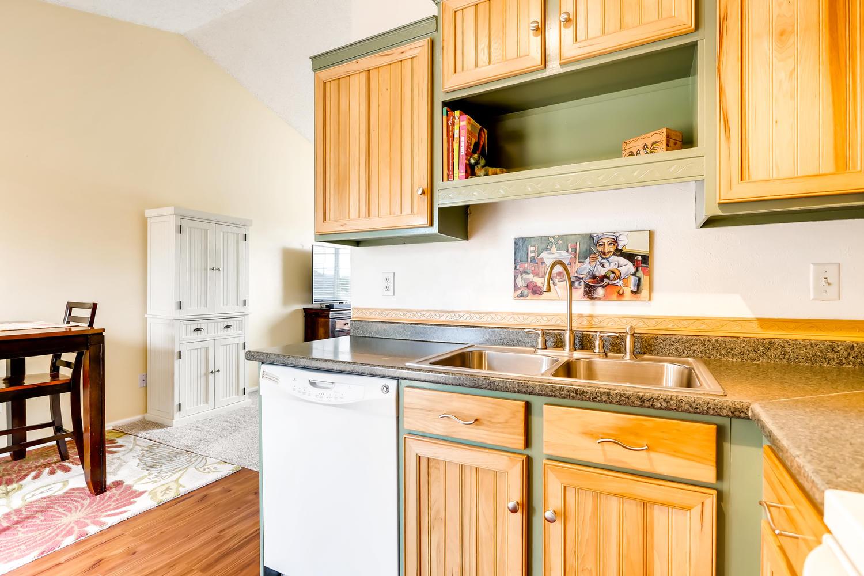 REAL ESTATE LISTING: 8725 S Yukon St Littleton CO Kitchen