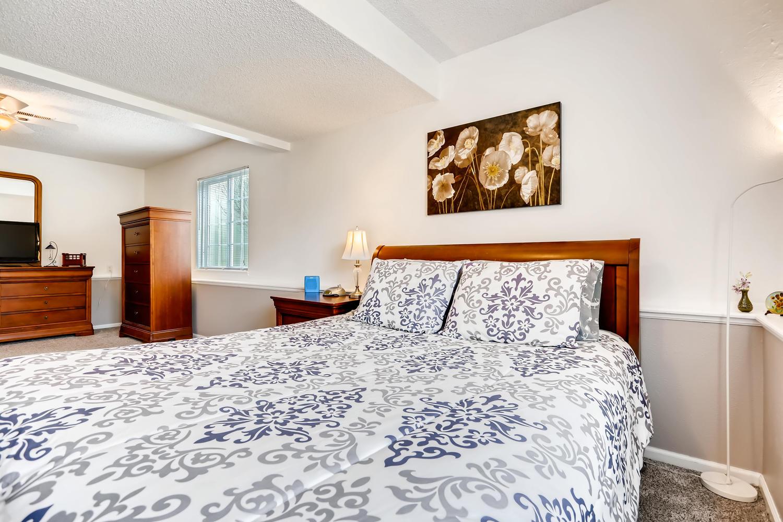 REAL ESTATE LISTING: 8725 S Yukon St Littleton CO Master Bedroom