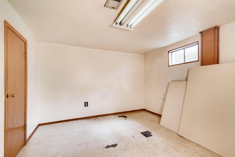 REAL ESTATE LISTING: 1025 W 101st Place Northglenn Basement Bedroom