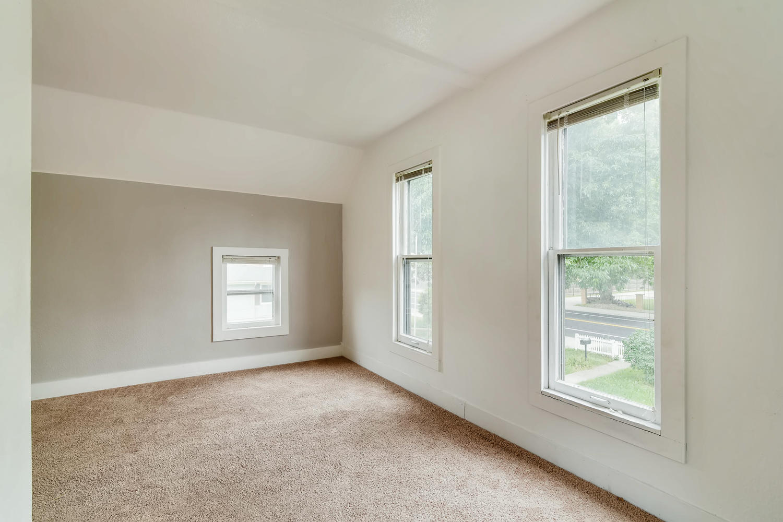 REAL ESTATE LISTING: 1201 E 1st Street Loveland CO Upstairs Bedroom #2