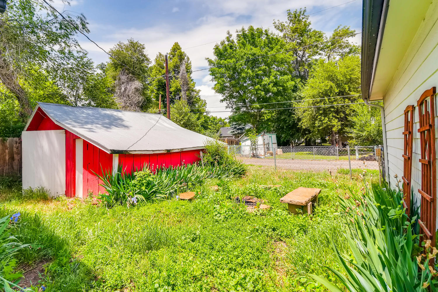 REAL ESTATE LISTING: 1201 E 1st Street Loveland CO Back Exterior