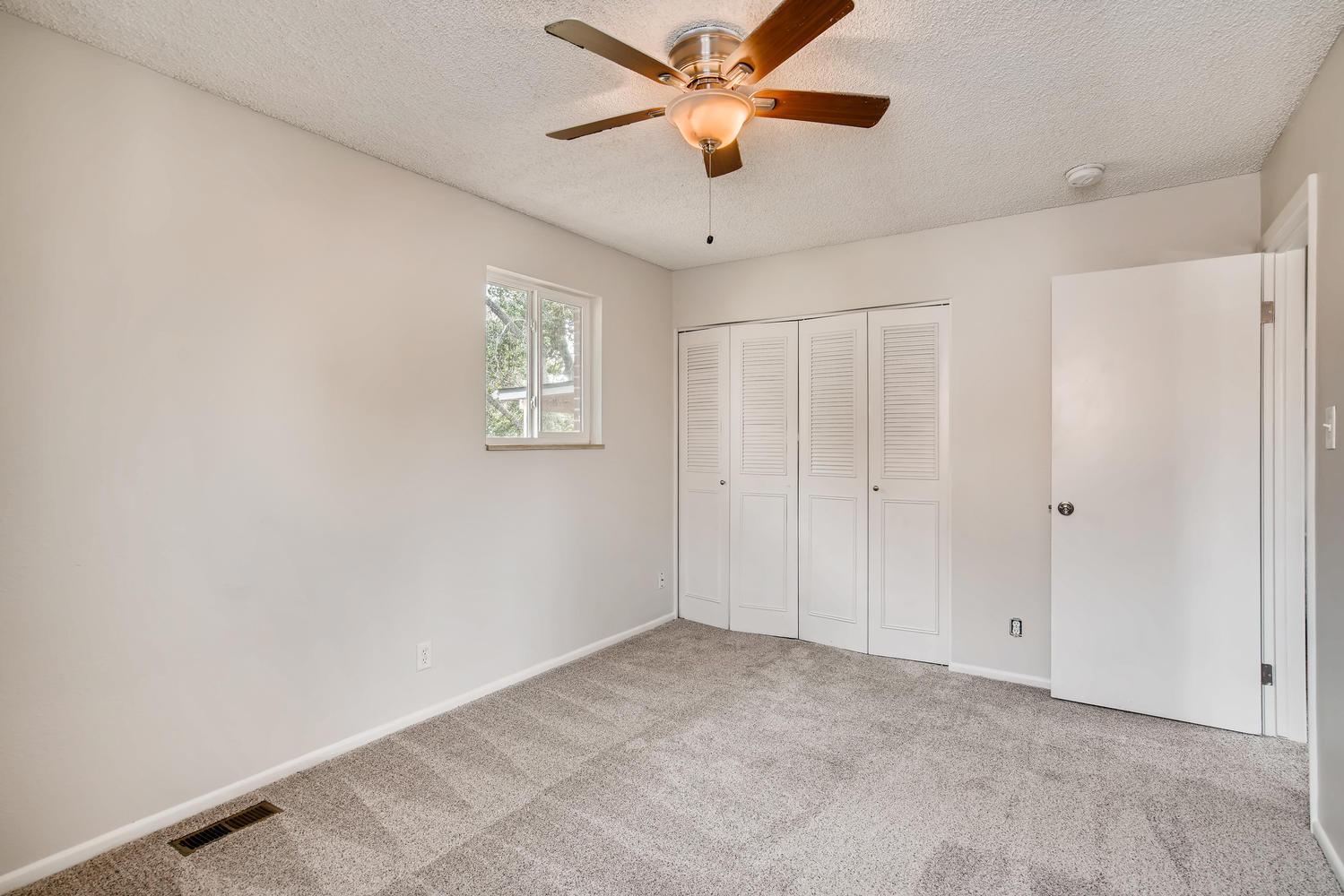 REAL ESTATE LISTING: 13040 Pensacola Place Denver Master Bedroom