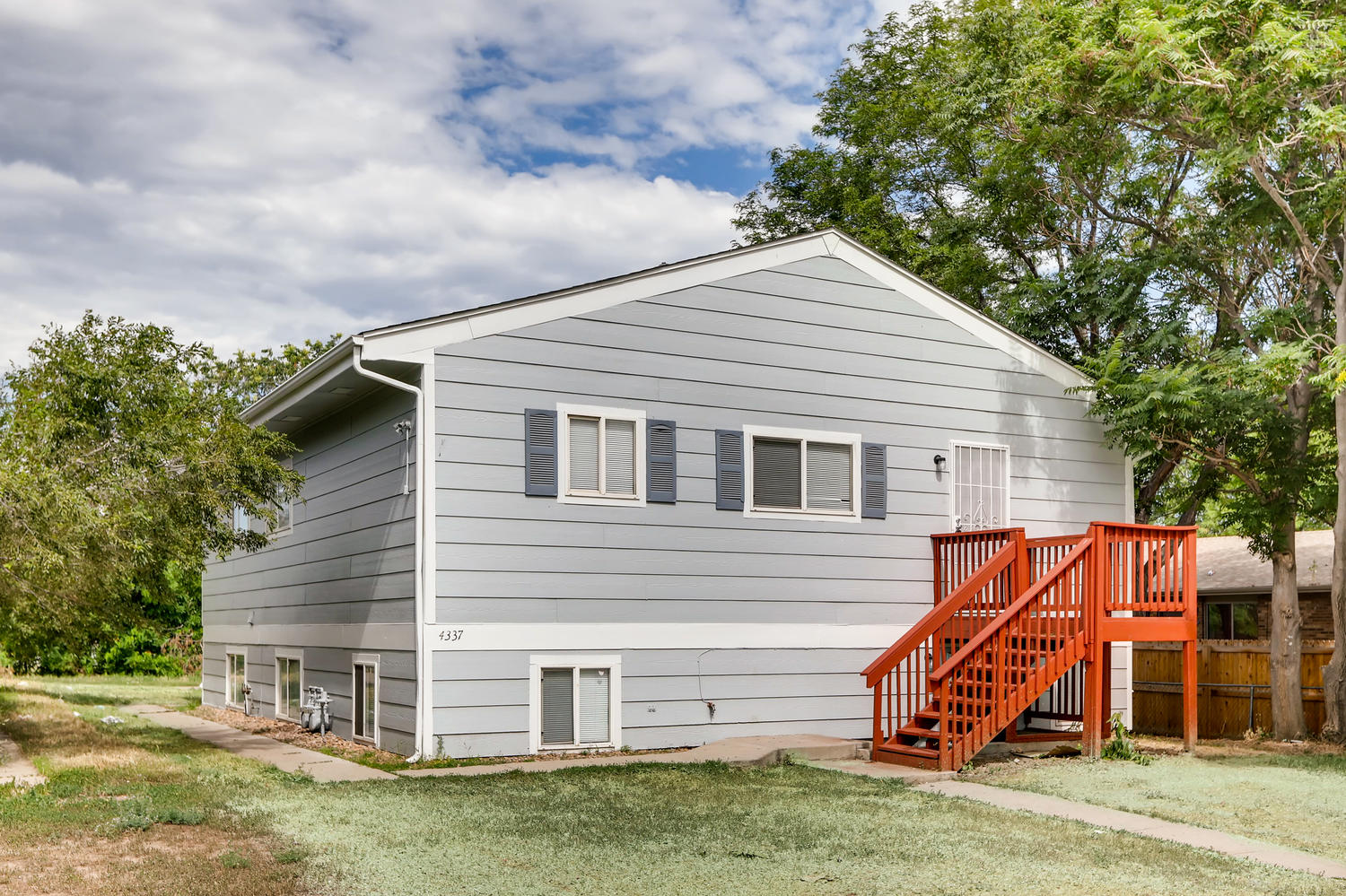REAL ESTATE LISTING: 4337 Cook St Denver Exterior Front