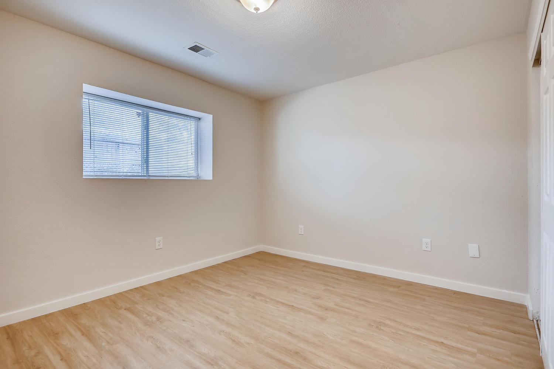 REAL ESTATE LISTING: 4337 Cook St Denver Unit B Bedroom #3