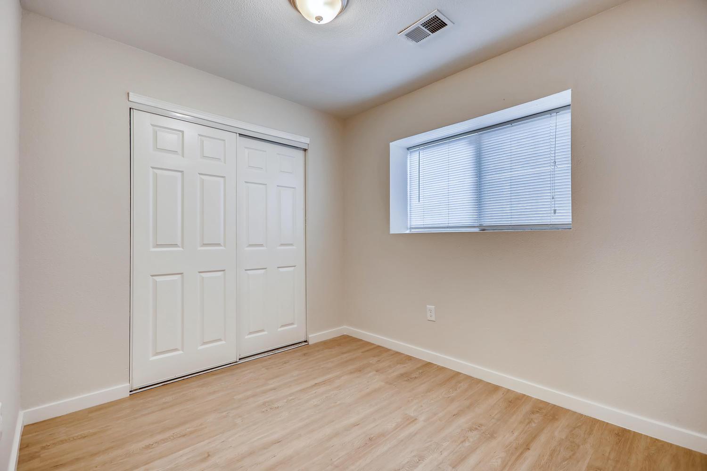 REAL ESTATE LISTING: 4337 Cook St Denver Unit B Bedroom #2