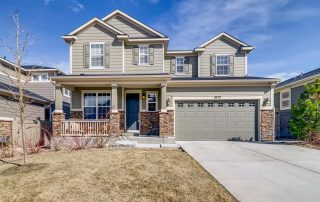 REAL ESTATE LISTING: 1029 Redbud Circle Exterior Front