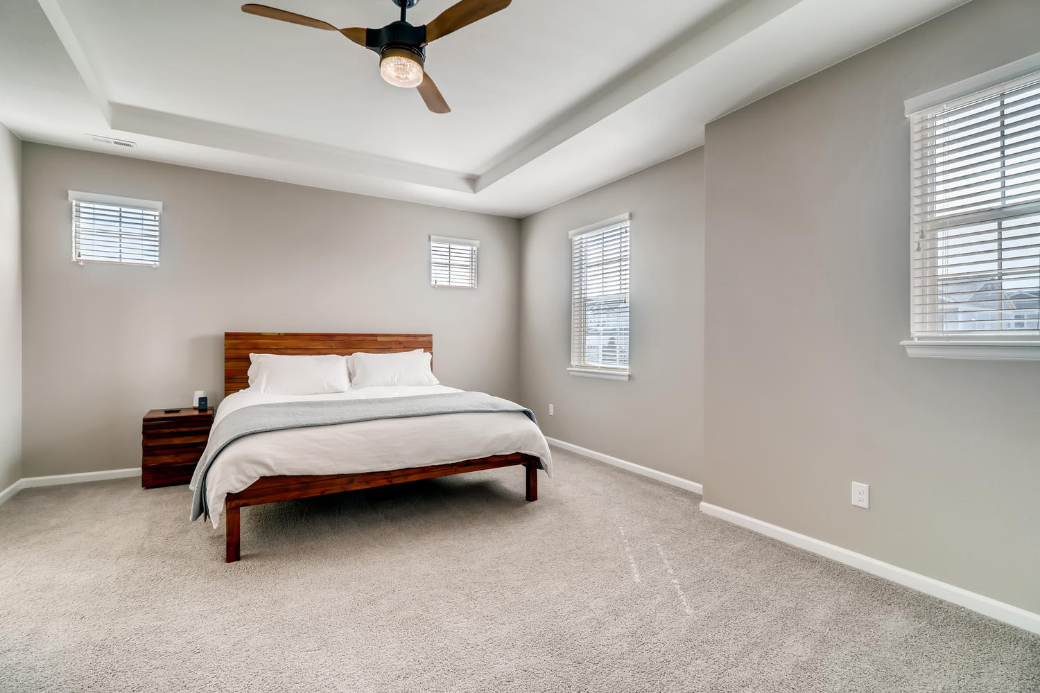 REAL ESTATE LISTING: 1029 Redbud Circle Master Bedroom
