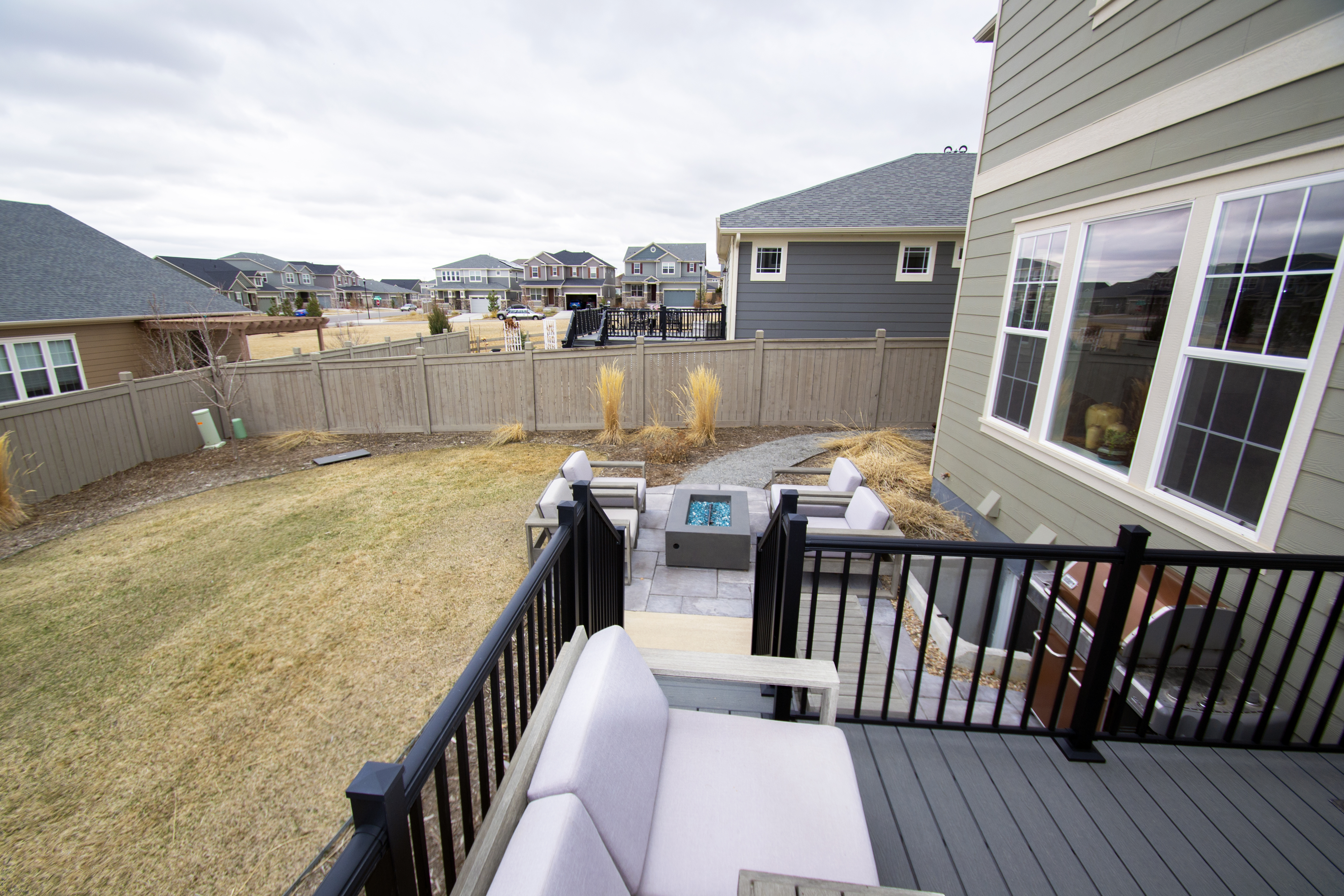 REAL ESTATE LISTING: 1029 Redbud Circle Deck and Patio