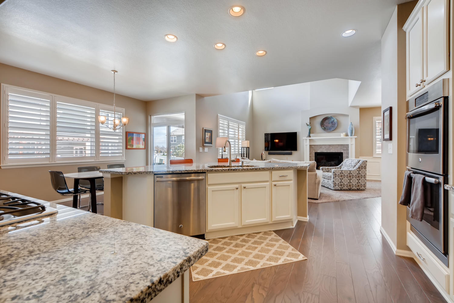REAL ESTATE LISTING: 2182 Steppe Dr Longmont Gourmet Kitchen
