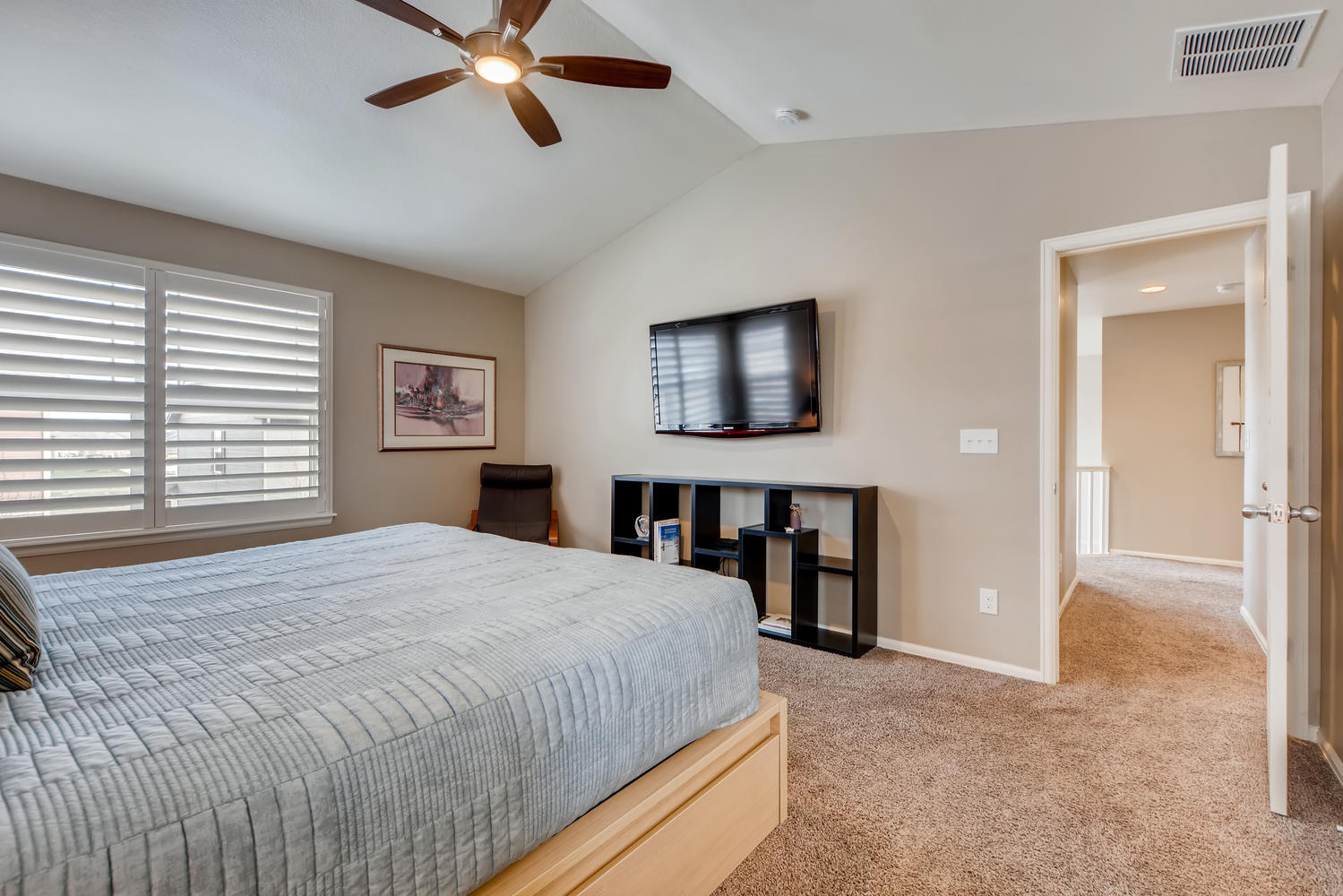 REAL ESTATE LISTING: 2182 Steppe Dr Longmont Master Suite