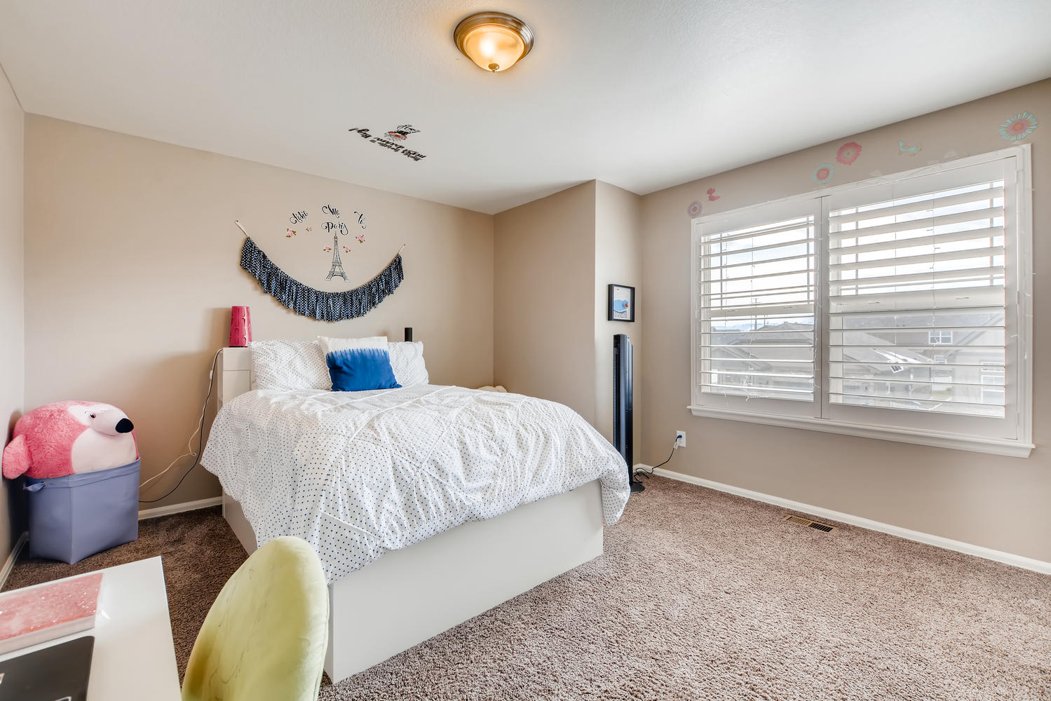 REAL ESTATE LISTING: 2182 Steppe Dr Longmont Bedroom #2
