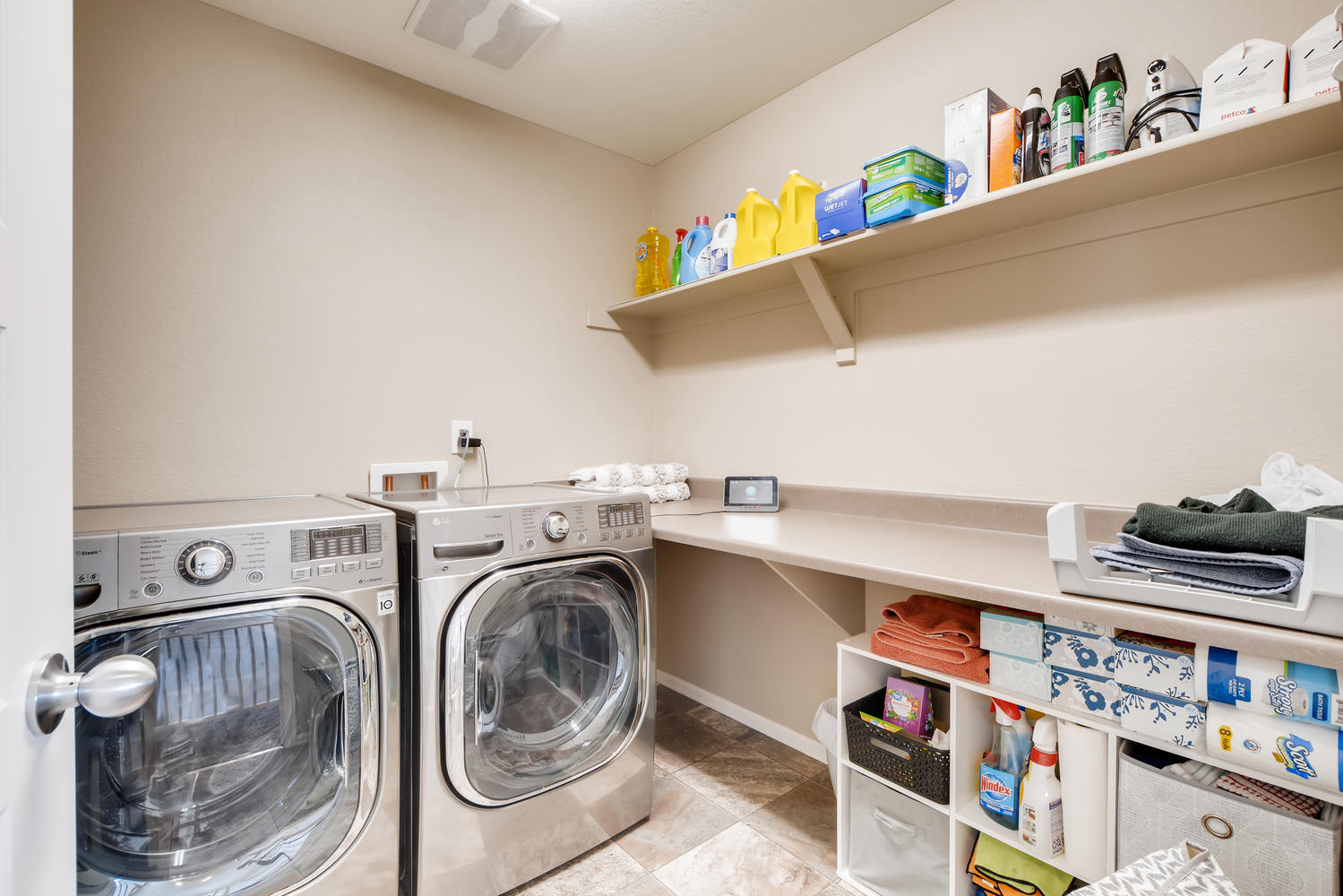 REAL ESTATE LISTING: 2182 Steppe Dr Longmont Laundry Room