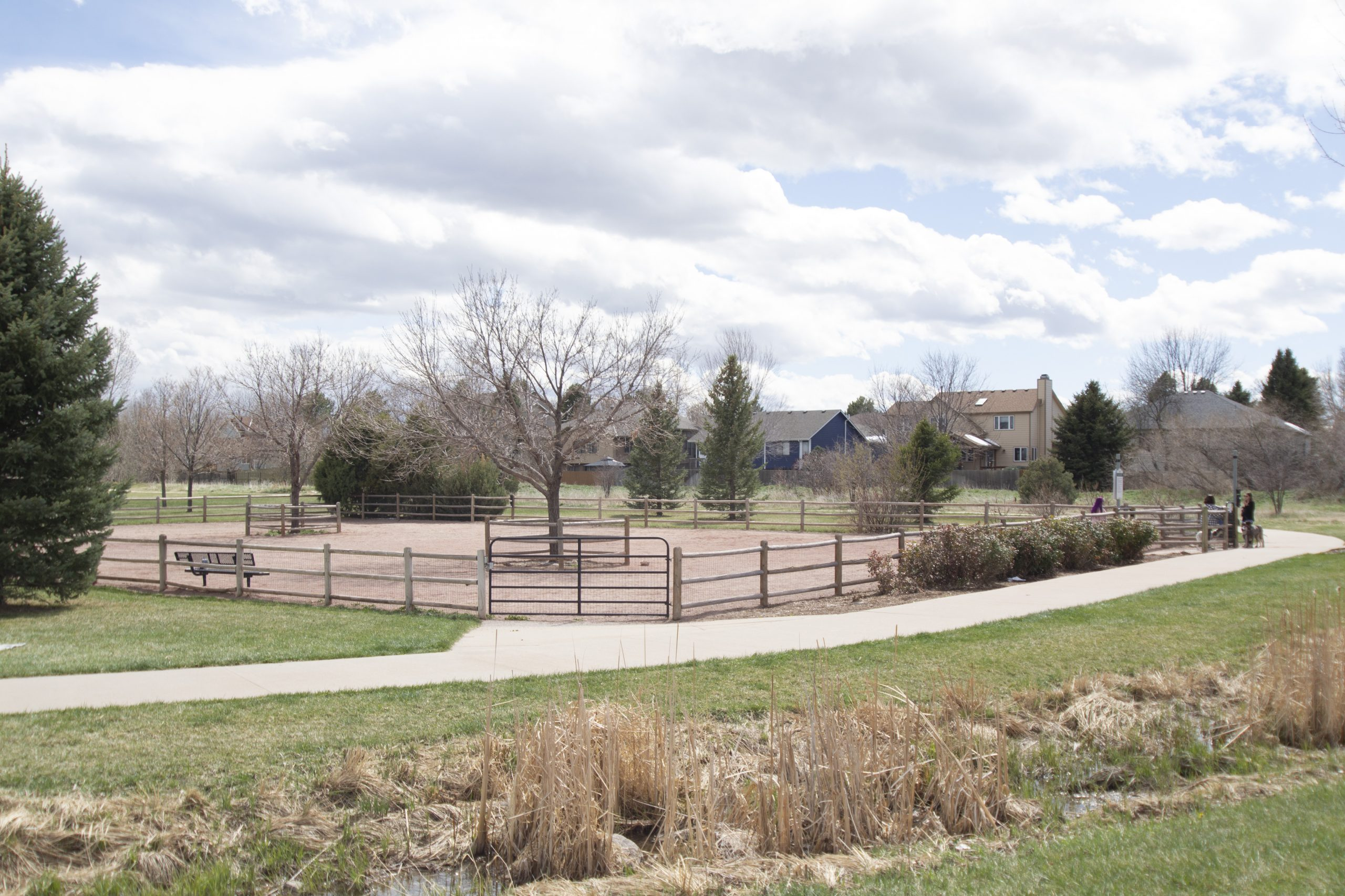 REAL ESTATE LISTING: 2182 Steppe Dr Longmont Covered Neighborhood Dog Park