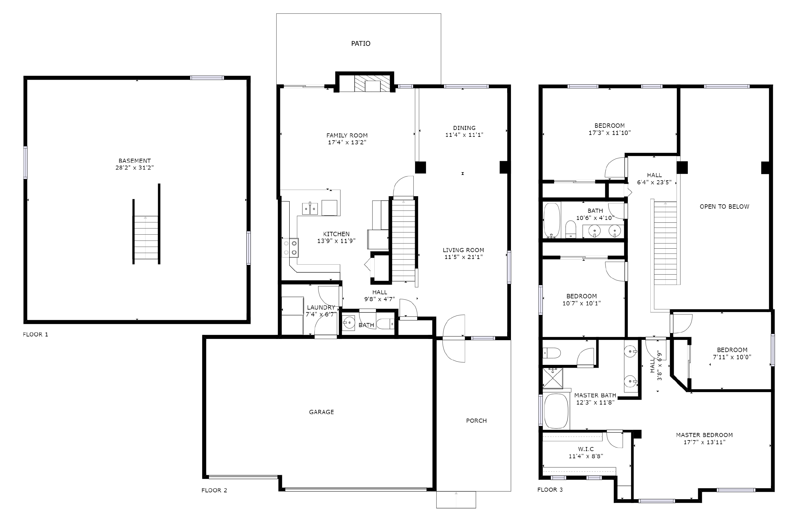 REAL ESTATE LISTING: 10502 Falcon St Firestone Floor Plan