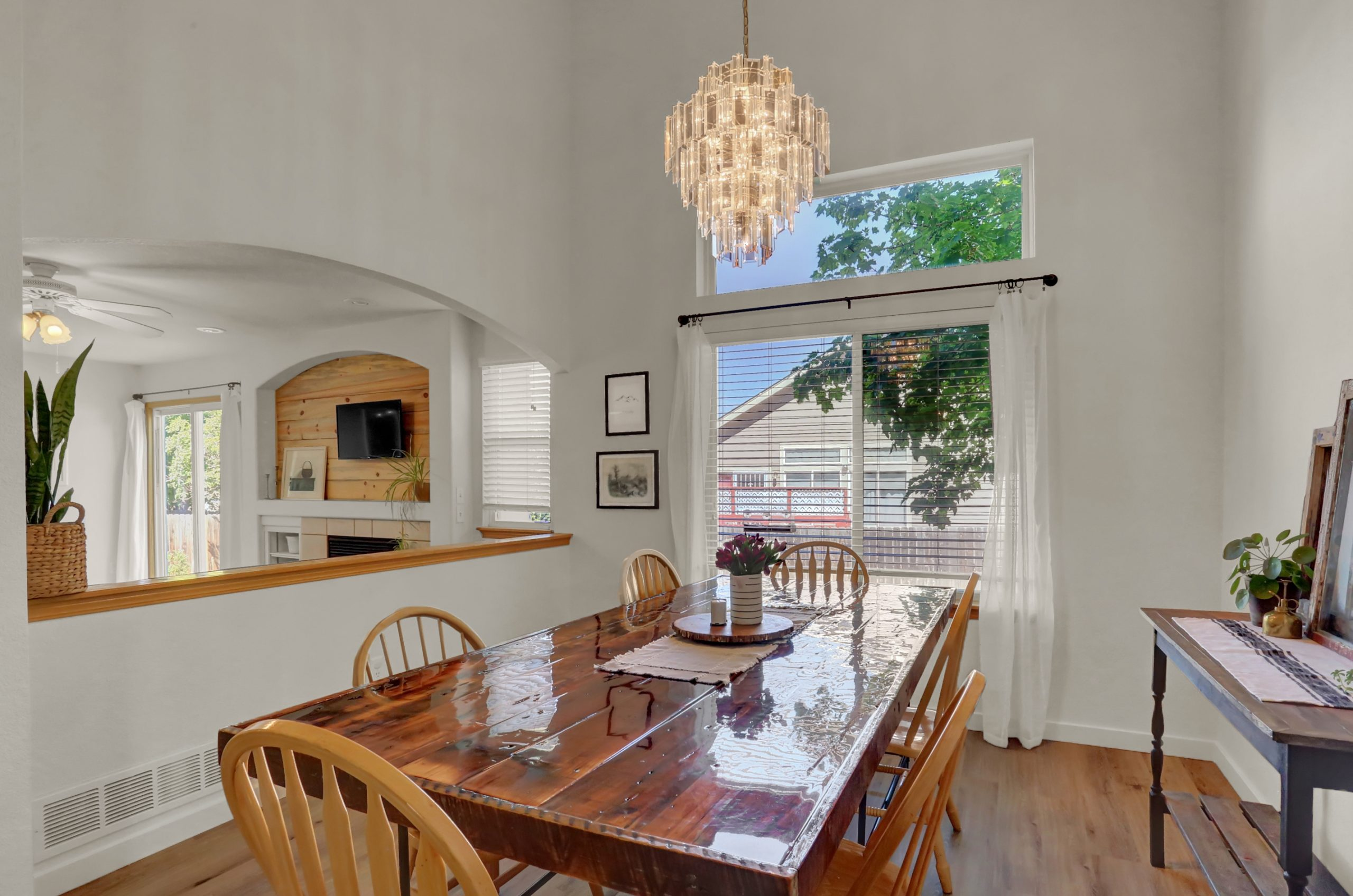 REAL ESTATE LISTING: 10502 Falcon St Firestone Dining Room