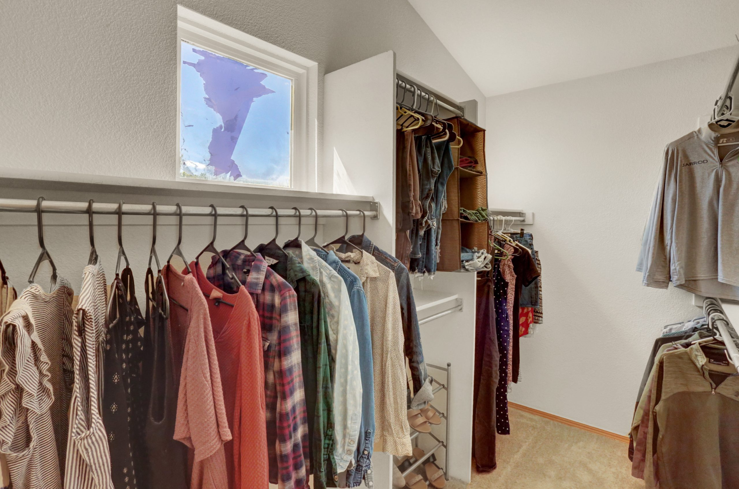 REAL ESTATE LISTING: 10502 Falcon St Firestone Master Walk-in Closet
