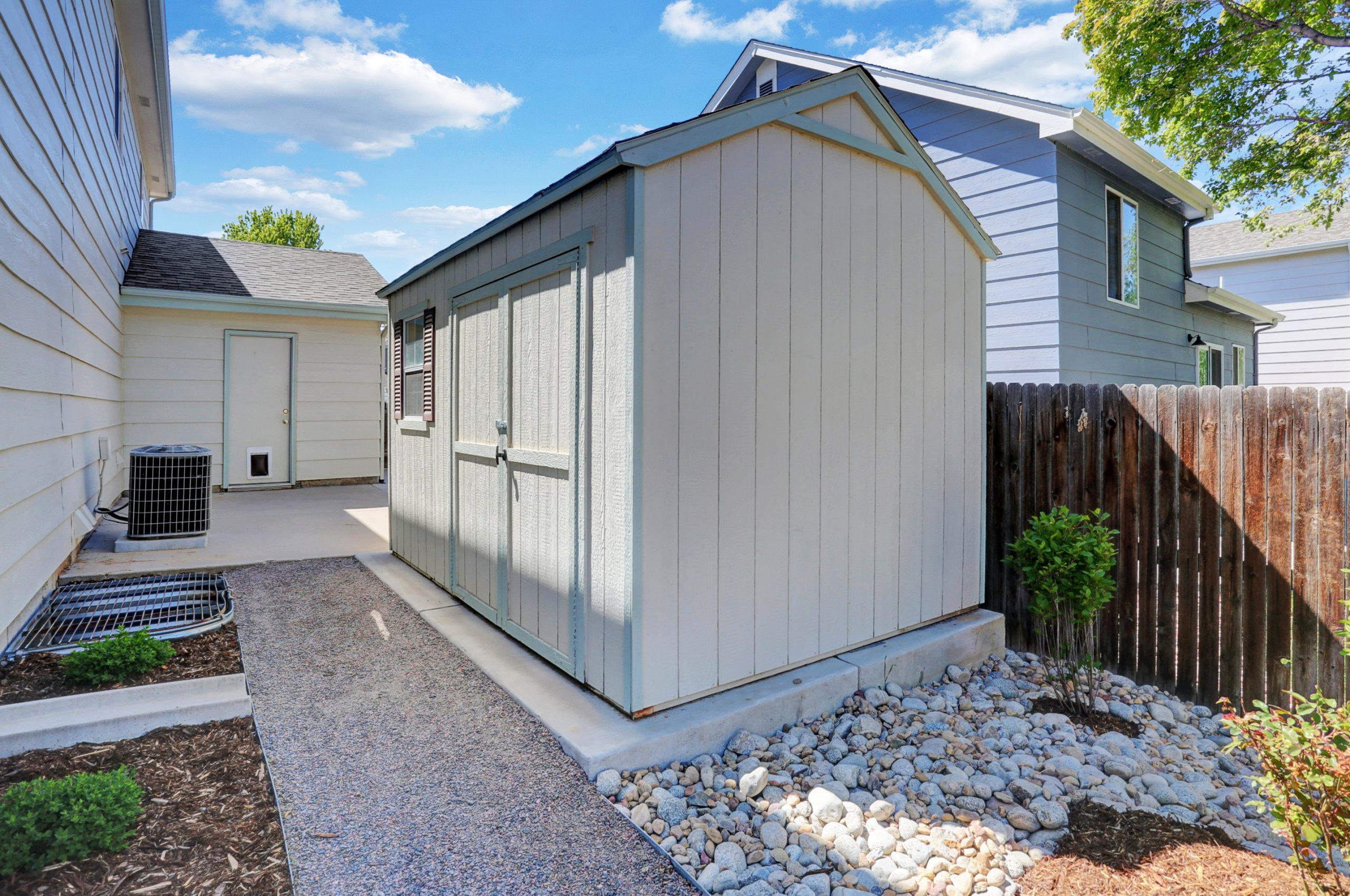 REAL ESTATE LISTING: 10502 Falcon St Firestone Garden Shed