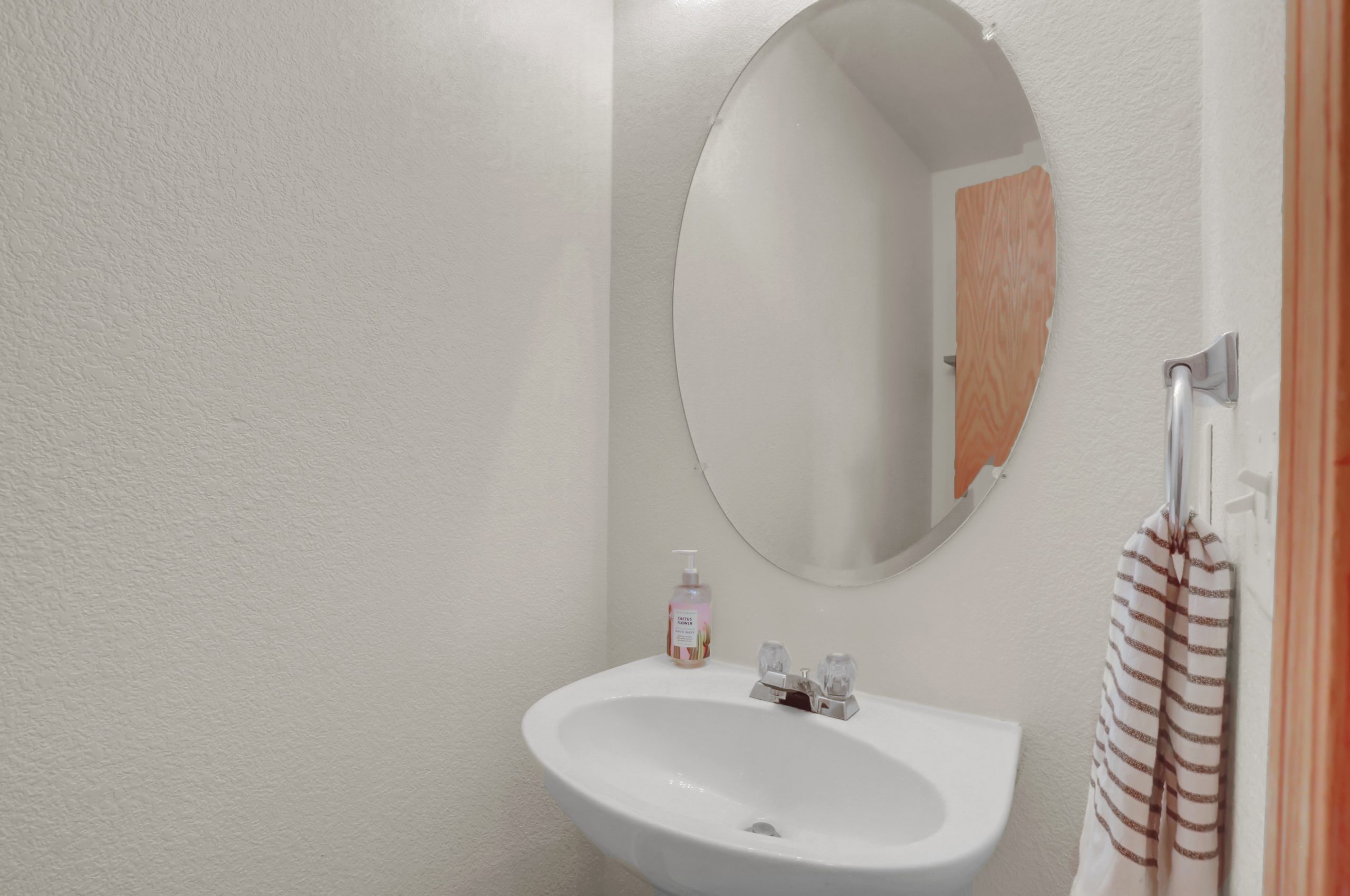 REAL ESTATE LISTING: 10502 Falcon St Firestone Powder Room