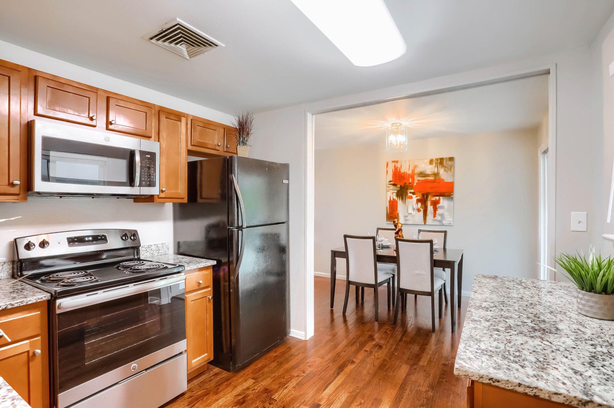 REAL ESTATE LISTING: 1309 Douglas Dr Denver Kitchen and Dining Room