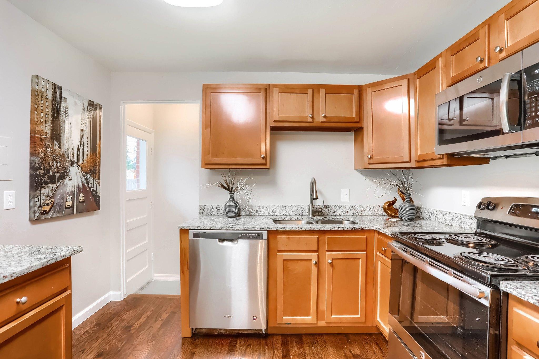 REAL ESTATE LISTING: 1309 Douglas Dr Denver Remodeled Kitchen