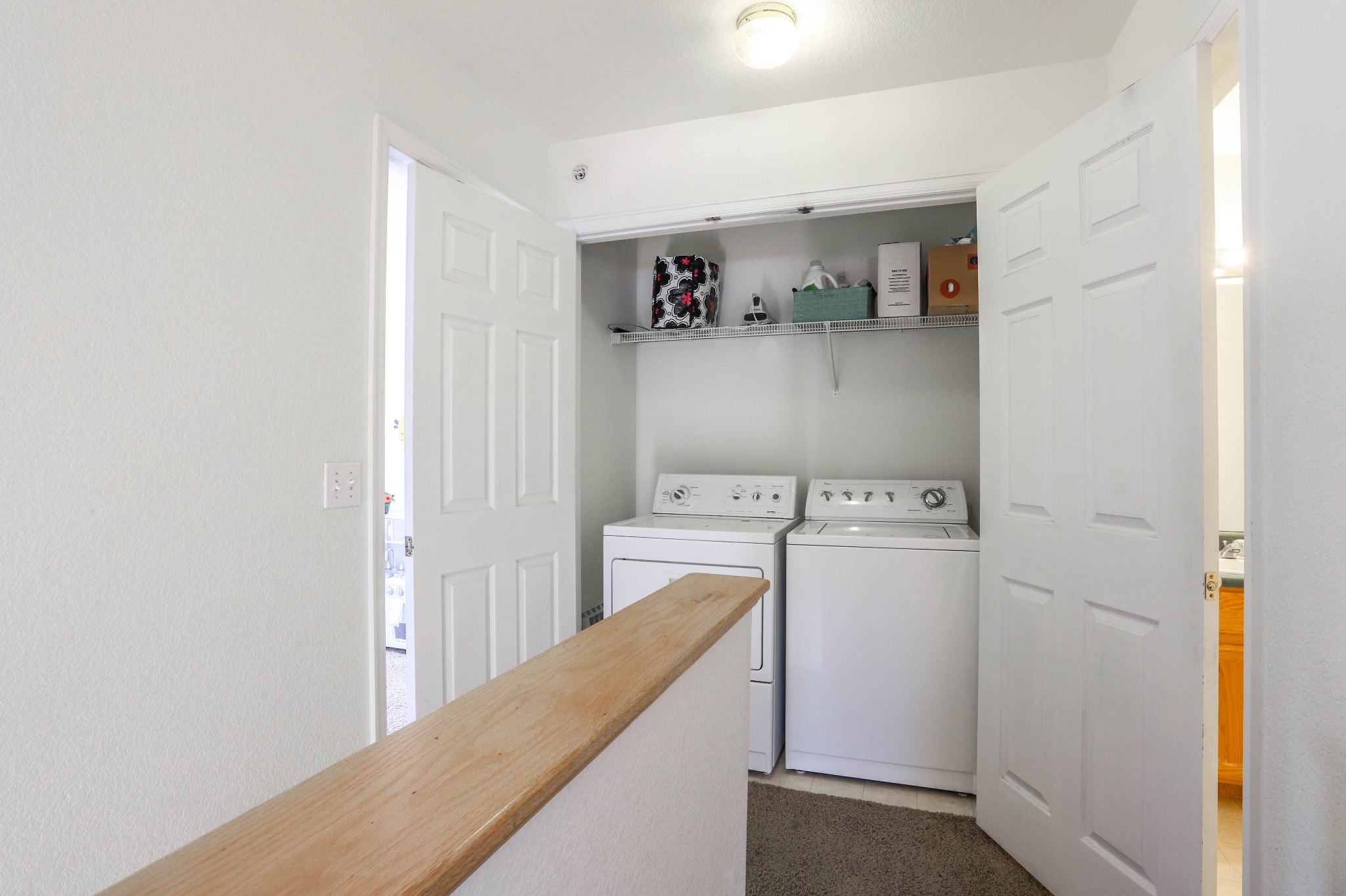 REAL ESTATE LISTING: 1601 Great Western Dr Longmont Laundry Closet