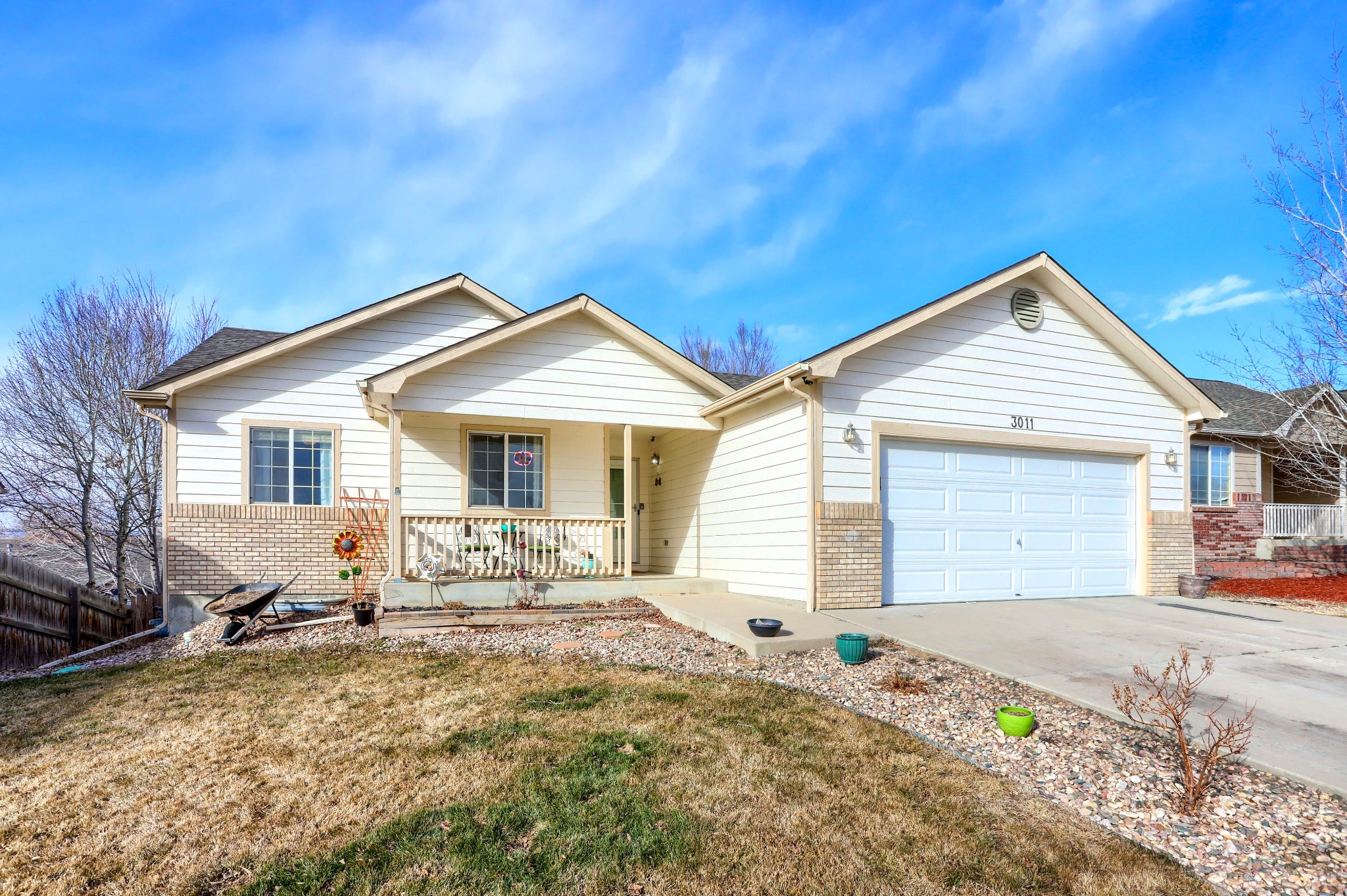 REAL ESTATE LISTING: 3011 45th Ave Greeley Front Exterior