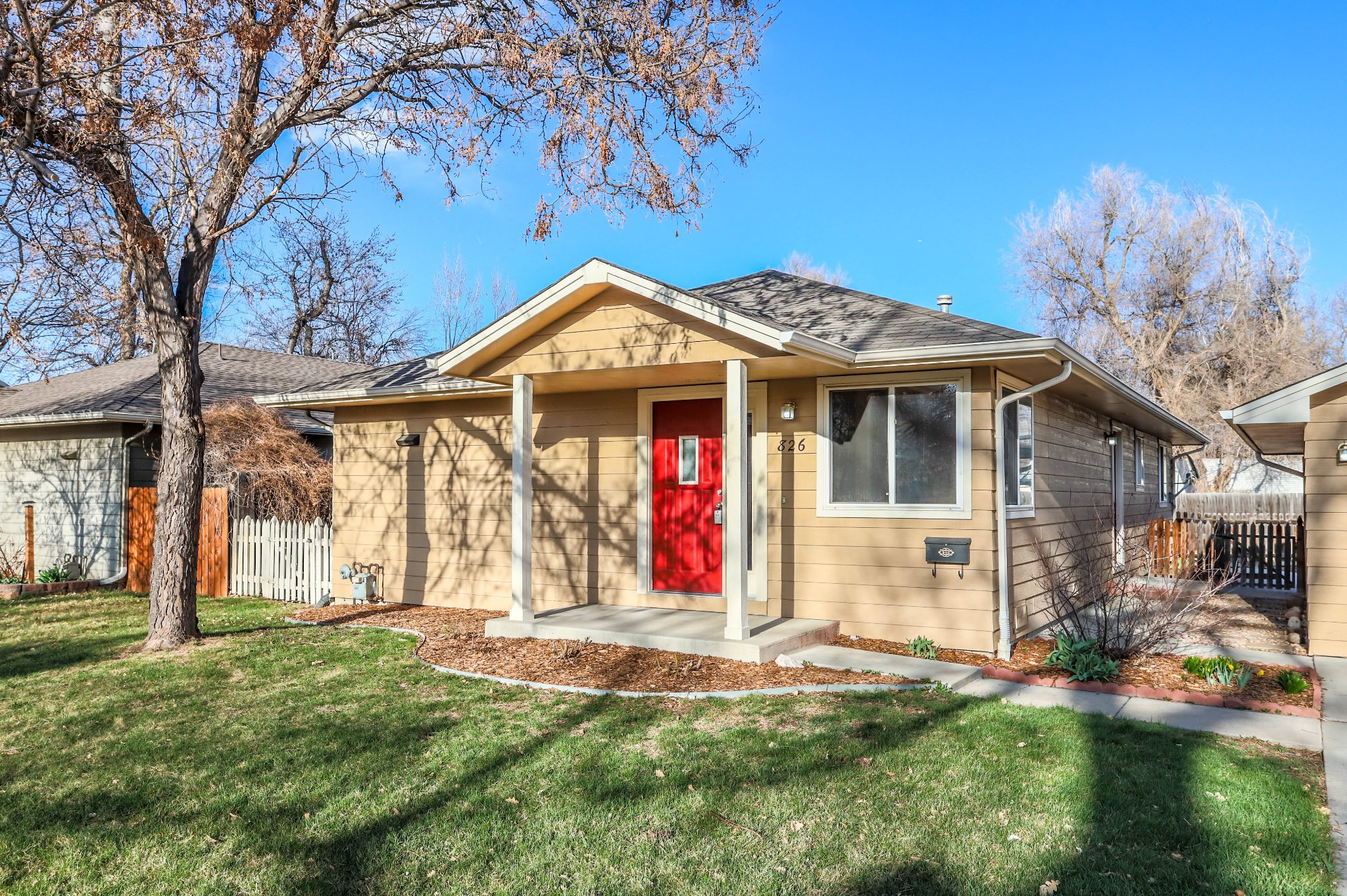 REAL ESTATE LISTING: 826 Atwood St Longmont Front Exterior