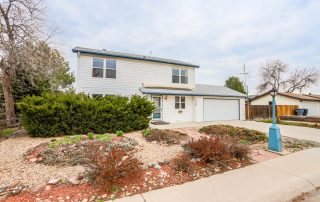 REAL ESTATE LISTING: 1516 Atwood St Longmont Front Exterior