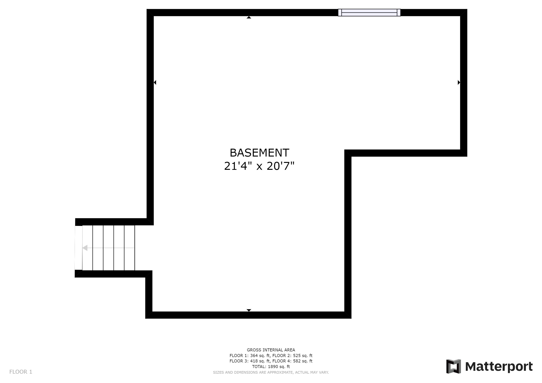 REAL ESTATE LISTING: 4421 Eugene Way Denver Basement Floor Plan