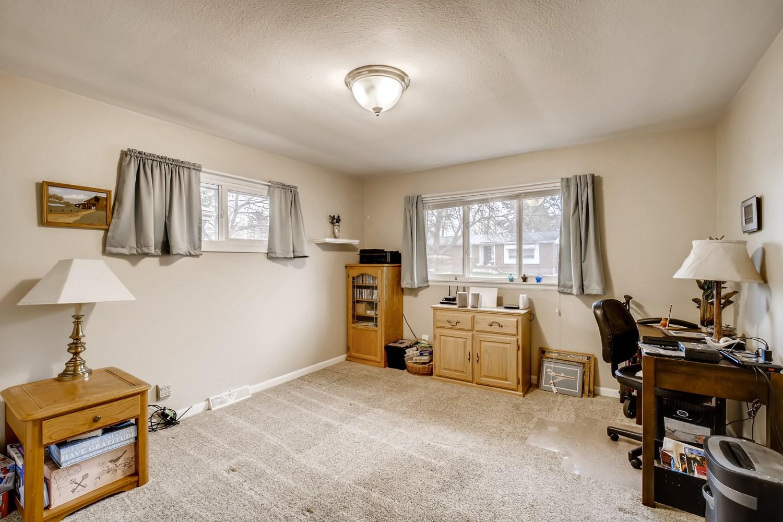 REAL ESTATE LISTING: 1737 Emery St Longmont CO Bedroom 2