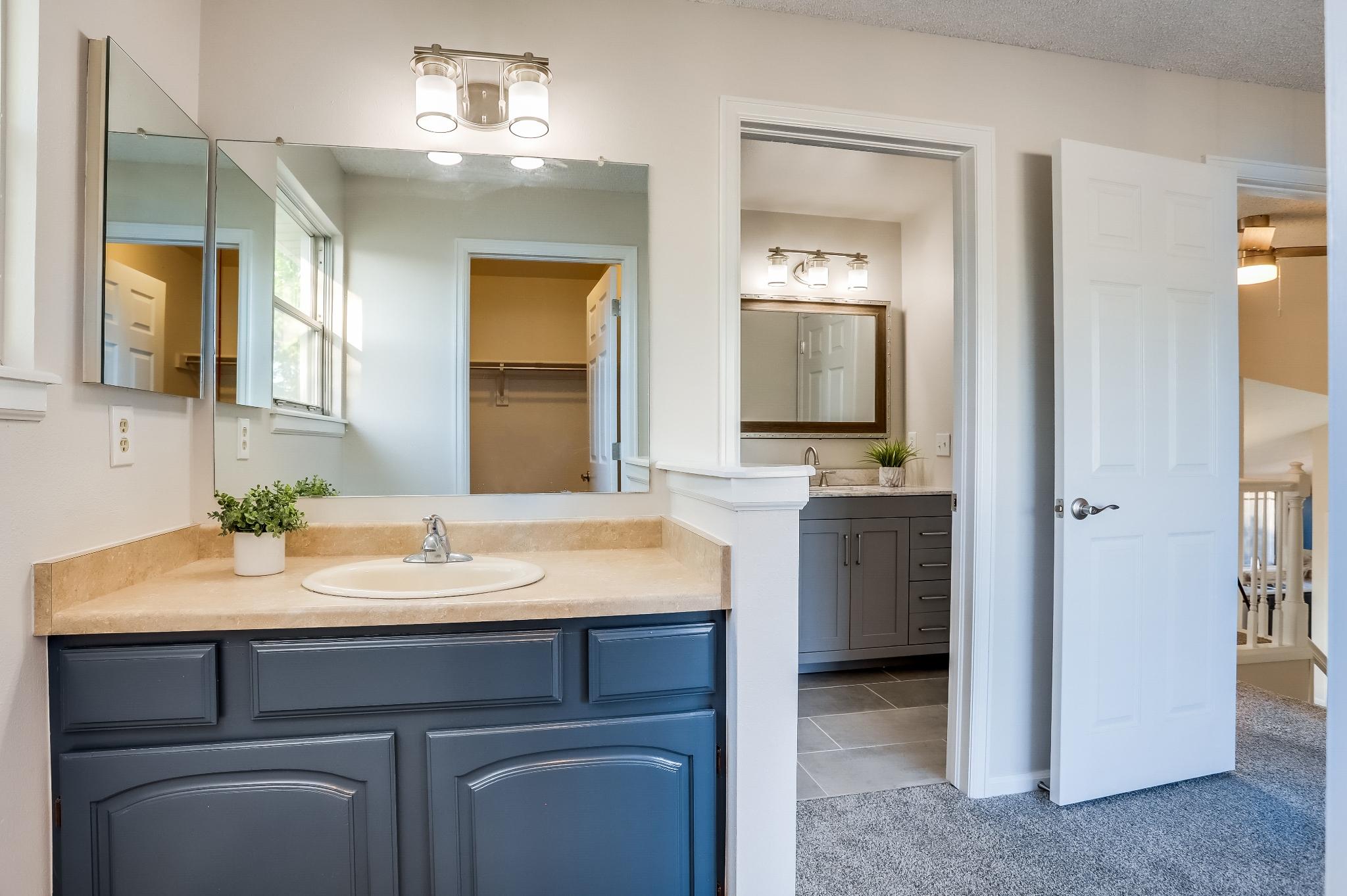 REAL ESTATE LISTING: 4421 Eugene Way Denver Master Bedroom Vanity