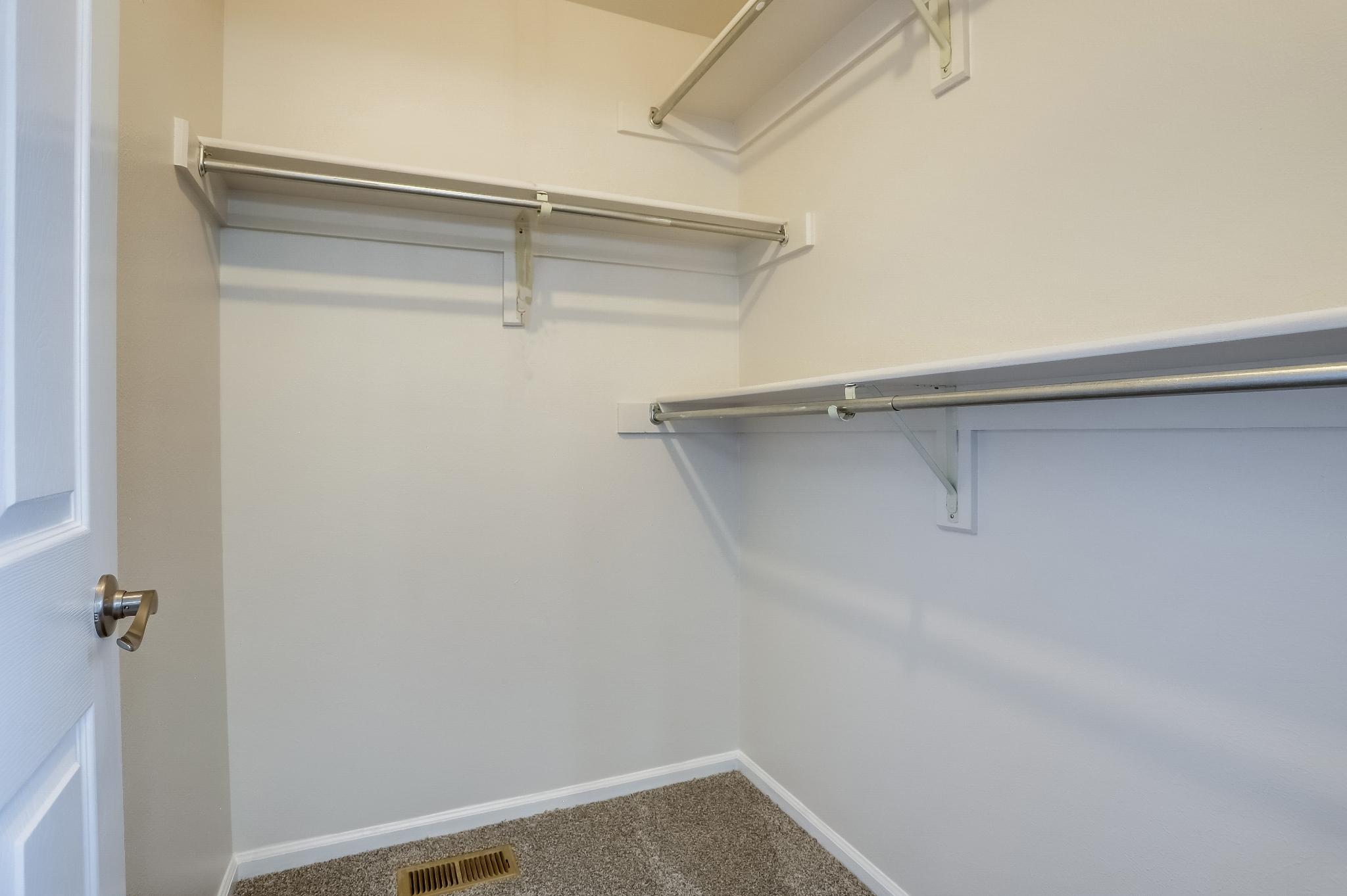 REAL ESTATE LISTING: 4421 Eugene Way Denver Master Bedroom Closet