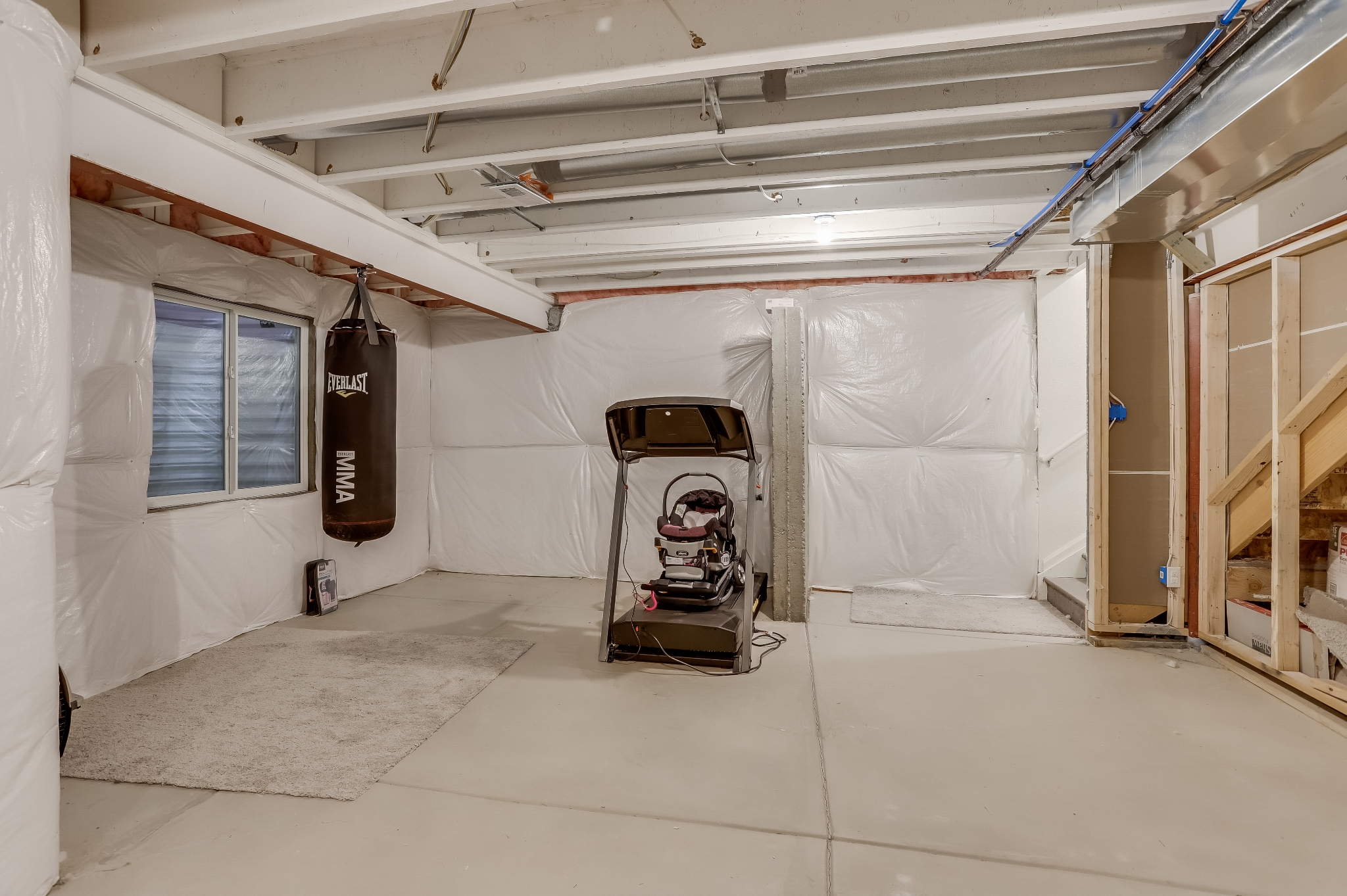 REAL ESTATE LISTING: 12813 Clearview St Firestone Basement