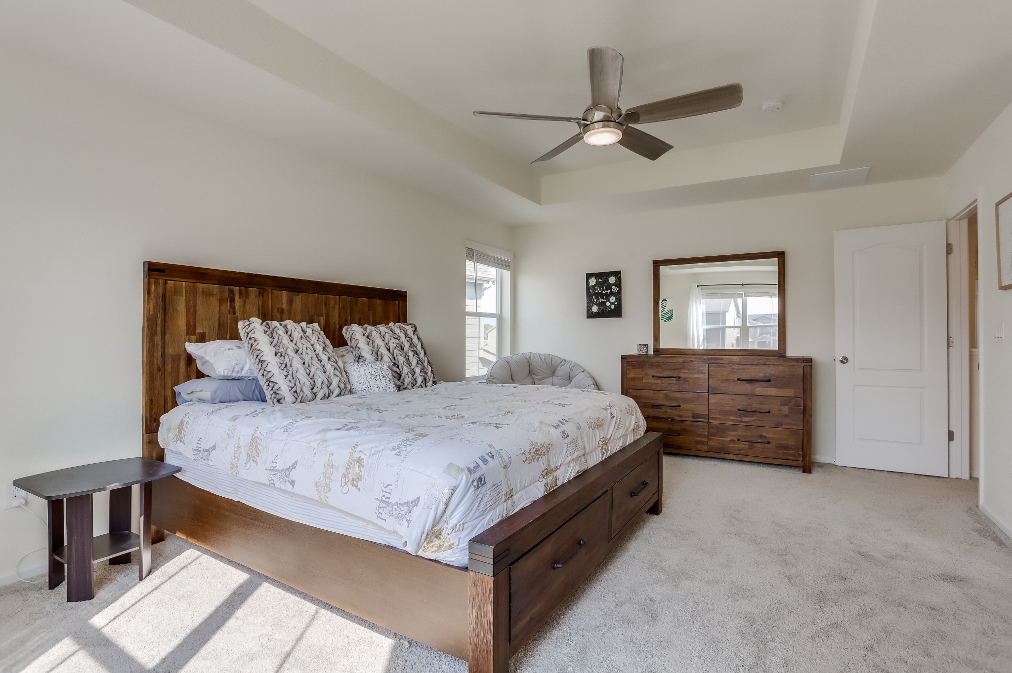 REAL ESTATE LISTING: 12813 Clearview St Firestone Master Bedroom